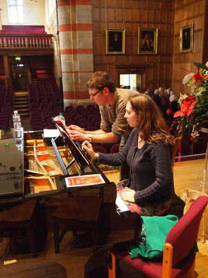 Musical Director, Mervyn Bethell and Accompanist, Jo Foote